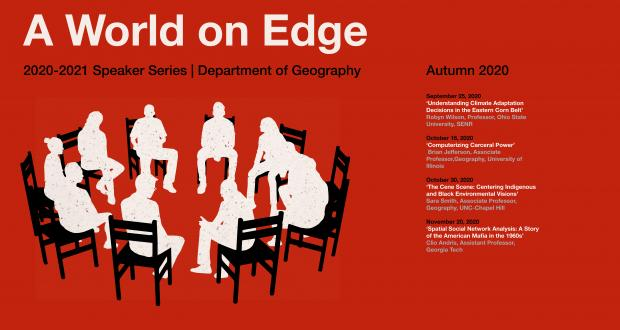 A World on Edge, 2020-2021 Geography Speaker Series
