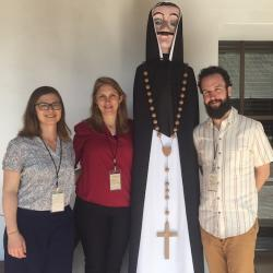 Conference of Latin Americanist Geographers, Zoe, Kendra and Nick