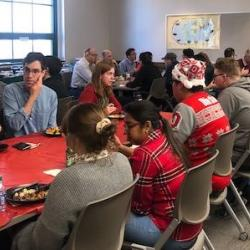 Department holiday celebration