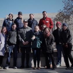 Ohio State Geography faculty, students and alumni attend the 2019 Kentucky-Ohio-Indiana workshop in political ecology at Indiana University.