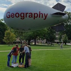 Geography Blimp and TA's