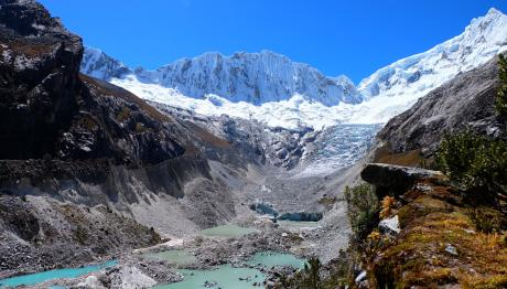 Retreating South American Glaciers