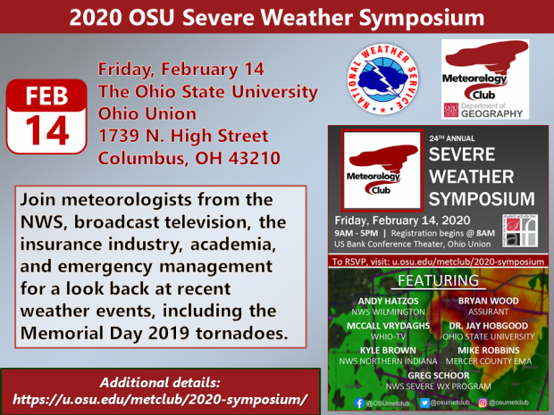 OSU Severe Weather Symposium Promo
