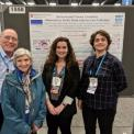 At the AGU with Ellen Lonnie Stacy and Emilie
