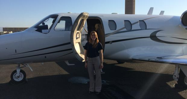 Student Intern at Desert Jet, CA