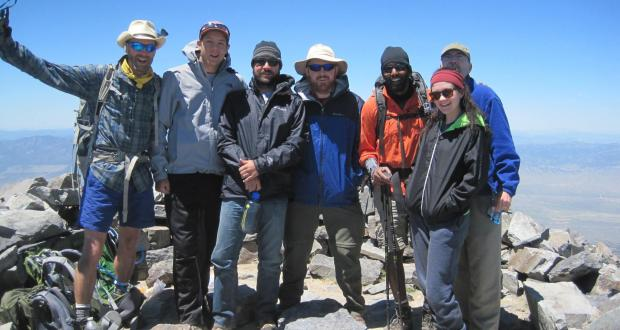 Great Basin field course summer 2016