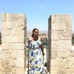 Brianna in Cyprus