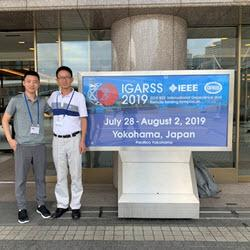 Liu and Zhu at the IEEE Geoscience and remote sensing society