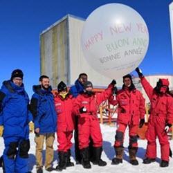 Antarctic weather balloon watch