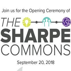 Sharpe Commons Opening