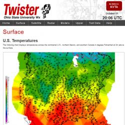 Our weather data web site