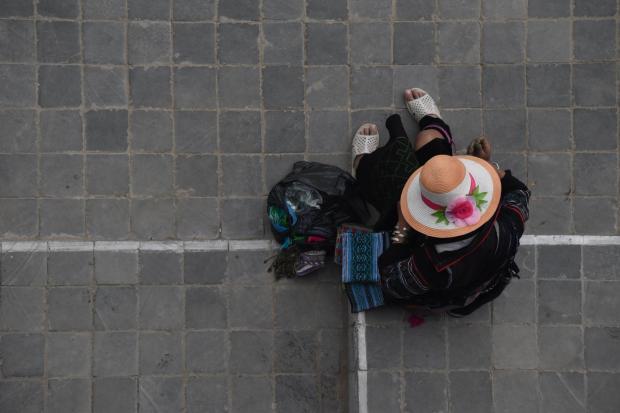 Hmong Woman taken by Ola Ahlqvist