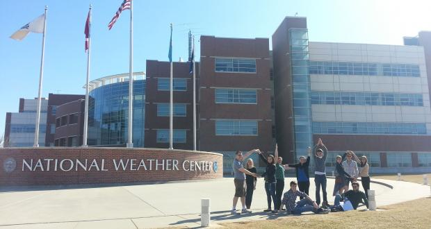 Meteorology Club at the National Weather Center in Norman, OK